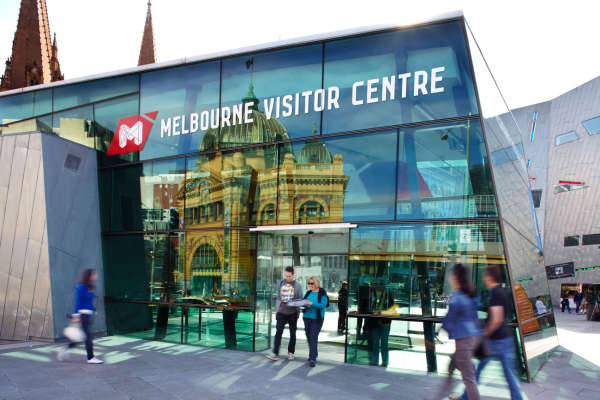 旅のプランに迷ったらMelbourne Visitor Centreへ行こう