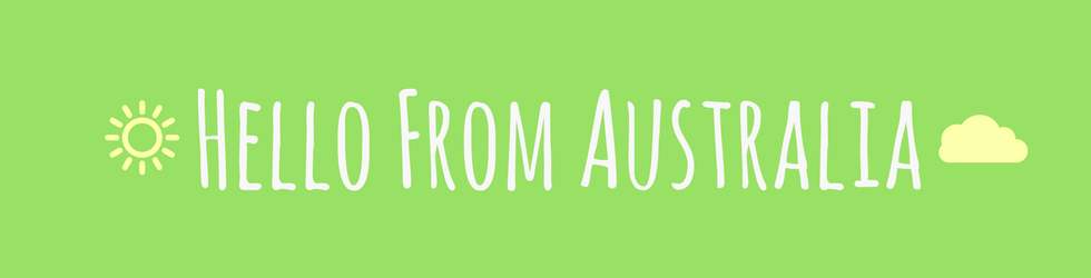 Hello From Australia